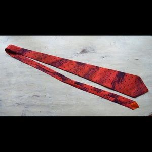 VNT Red and Navy Tie